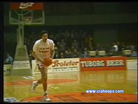 Ex-Yu All-Star Game Sarajevo 1991 - Toni Kukoc vs Zoran Bacalja Slam Dunk Contest Finals