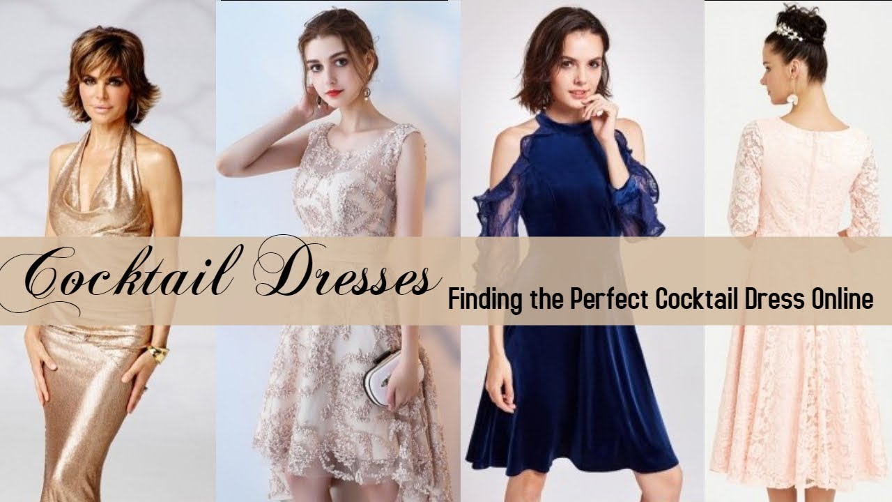Finding the Perfect Cocktail Dress Online - YouTube