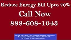 Best Solar Power (Energy Panels) Installation Company in Dover Massachusetts MA