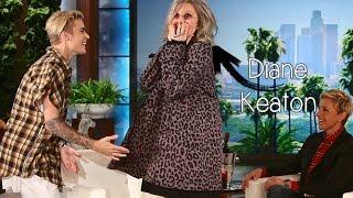 Diane Keaton rencontre Justin Bieber || VOSTFR