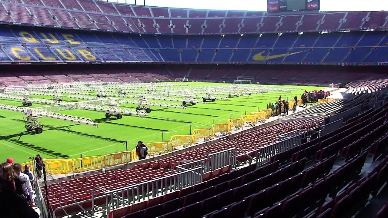 2014 Barcellona. Camp Nou Experience. pat. 01. (22.02.2014) - YouTube