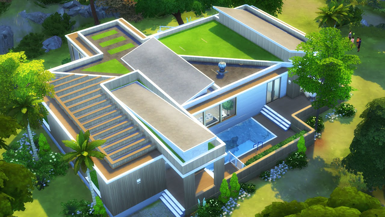 How To Build House In The Sims
