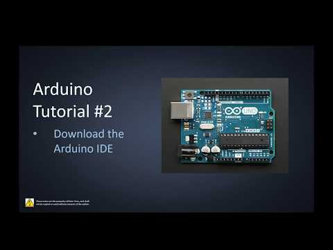 Arduino Tutorial #2 (Download & Install Arduino IDE)