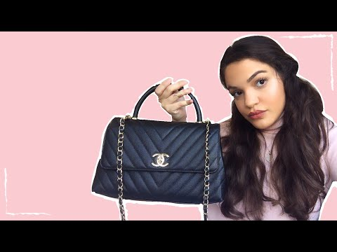 CHANEL COCO HANDLE MEDIUM 2020 | HOW MUCH FITS INSIDE