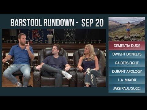 Barstool Rundown - September 20, 2017