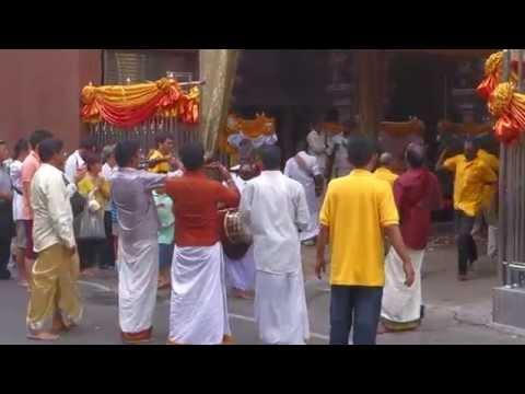 Navratri - Hindu festival in Sri Maha Mariamman temple, Bangkok