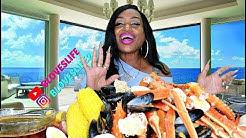 Joe's Crab Shack Feast, King & Queen Crab legs, Mussels and Shrimp