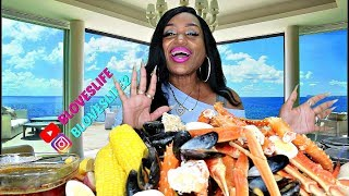 Joe\'s Crab Shack Feast, King & Queen Crab legs, Mussels and Shrimp