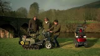 Top Gear Гонка с инвалидными колясками Часть 1