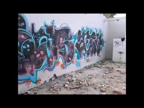 Graffiti - Streak Team at Depok City