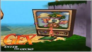 Gex 64: Enter The Gecko Nintendo 64 Gameplay Walkthrough Part 1 - Toon TV!