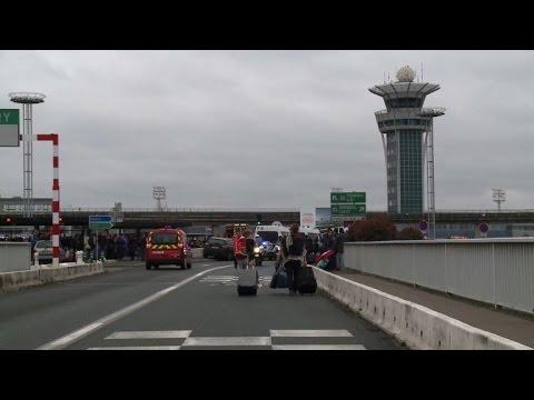 Man shot dead in Paris airport security scare