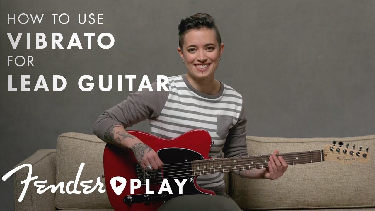 How To Use Vibrato for Lead Guitar | Fender Play | Fender