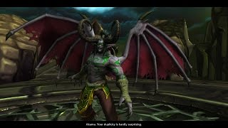 WoW: Legion - Illidan's story playthrough part 3 - 1080p 60fps - No commentary