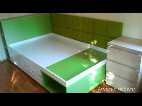 Мебель для детской подростковой комнаты серии Оливия