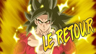 DRAGON BALL HEROES EN ANIME DE LA MERDE ?  GOKU SSJ4 VS GOKU SSJ BLUE