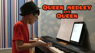 Queen Medley on Piano