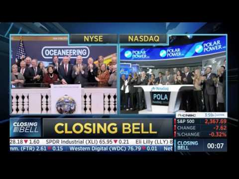 CNBC Closing Bell Ceremony March 7, 2017