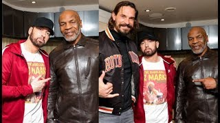 """Eminem To Be On Mike Tyson Podcast """"Hot Boxin"""""""