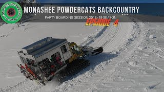 Monashee Powder Cats Backcountry Snowboarding and Pow Surfing 2019