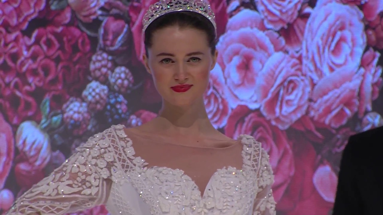 Angelo Estera Couture wedding collection 2018 - YouTube