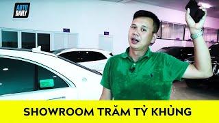 ĐẪM MỒ HÔI khám phá showroom 100 tỷ toàn HÀNG KHỦNG |$5 Million Luxury Car Showroom|