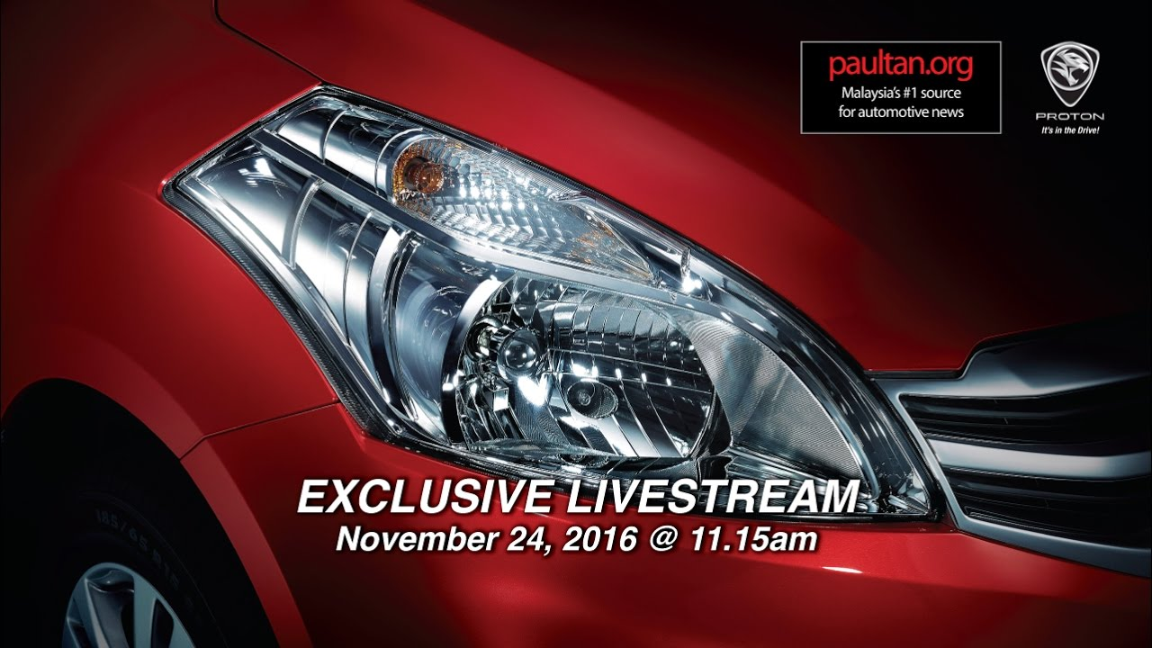 Proton Ertiga - watch the launch live from 11 15 am onwards
