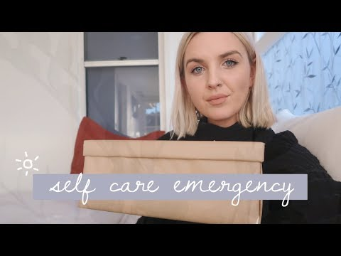 How To Create A Self Care Emergency Kit ☀️ Self Love 101