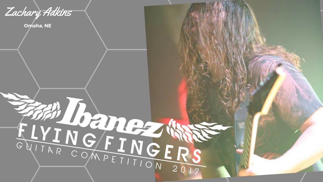 (1st Place Winner USA) IBANEZ FLYING FINGERS 2017 Zachary Adkins OMAHA NEBRASKA
