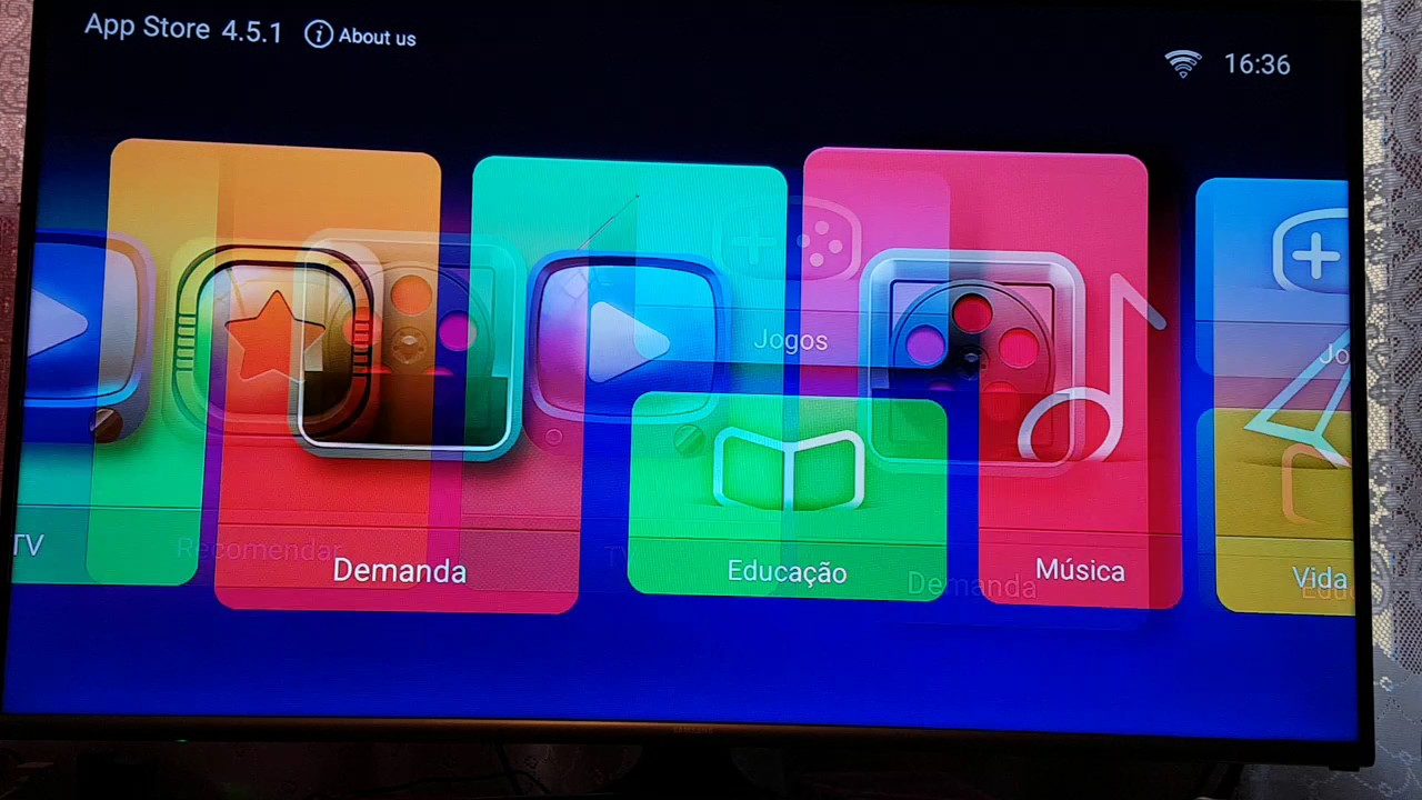 App de Filmes para Box Android (HTV. MXQ. etc..) - YouTube