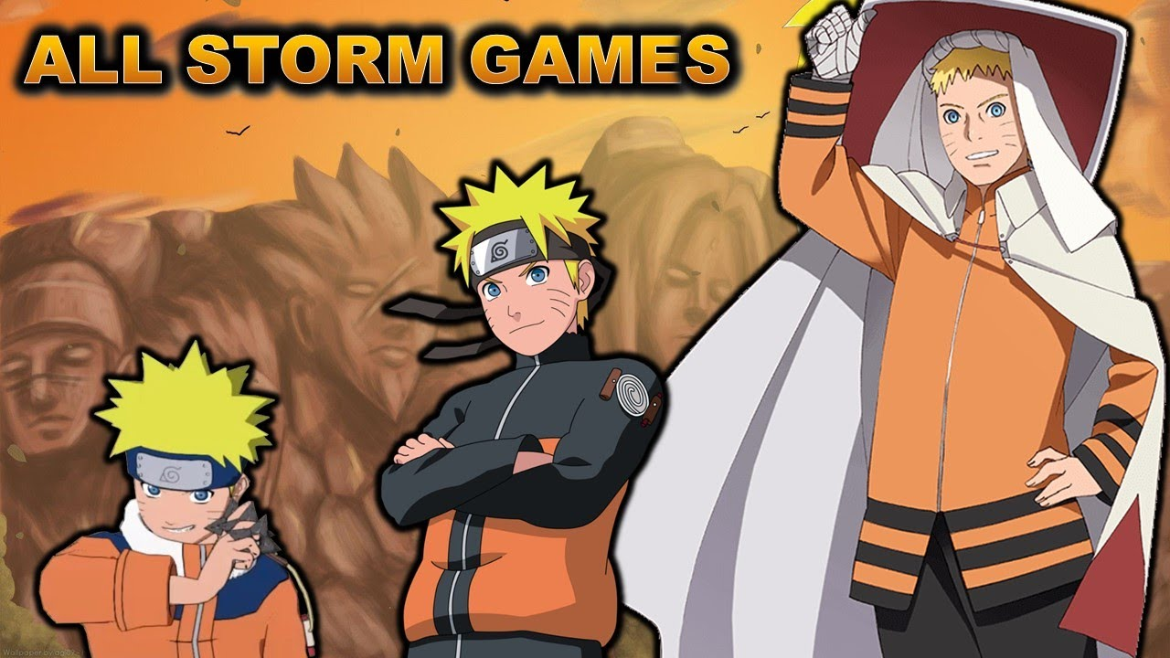 The Entire Naruto Story In Chronological Order (Storm 1 - 4 +DLC) - YouTube