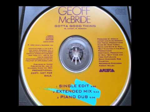 Geoff McBride - Gotta Good Thing (Piano Dub)