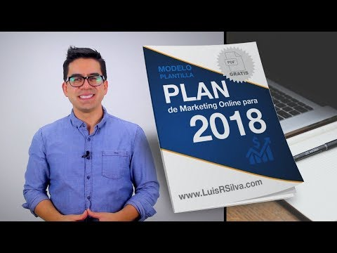 Plan de Marketing Digital 2018 - Plantilla Gratis en PDF