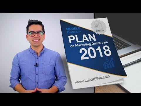 Plan de Marketing Digital 2018 - Plantilla Gratis en PDF