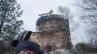 Ролик о восстановлении храма в Пречистом бору. Осень-зима 2016 года.(Это видео является участником Конкурса elitsy.ru/events/1167/ Друзья! Наша инициативная группа пытается восстановит..., 2016-12-15T08:48:23.000Z)