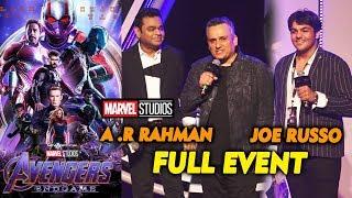 Avengers Endgame Press Conference In India | FAN MEET | Joe Russo, A R Rahman, Ashish Chanchlani