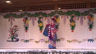 琉球古典舞踊 本貫花 (沖縄首里城公園)