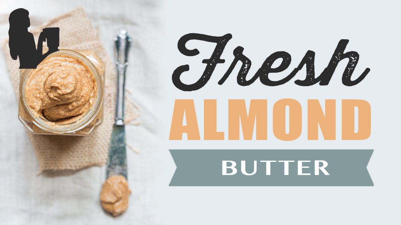 how to make almond butter with a vitamix
