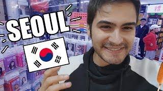 Comida Callejera COREANA y LOCURA por el K-POP - Aventuras en COREA