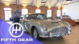Fifth Gear Aston Martin Heritage Centre смотреть