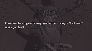 Karma  The Principles of Sowing and Reaping - Reunion worship service 8.25.19