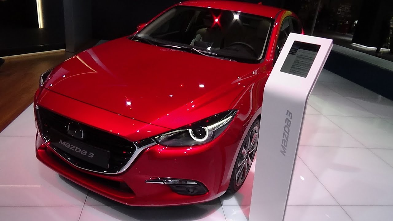 2018 Mazda 3 Sports Line Skyactiv G 165 Exterior And Interior Iaa Frankfurt 2017 Youtube