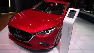 2018 Mazda 3 Sports-Line Skyactiv-G 165 - Exterior and Interior - IAA Frankfurt 2017