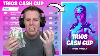 How I NEARLY Made Money In The Trio Cash Cup! (BEST PLACEMENT)