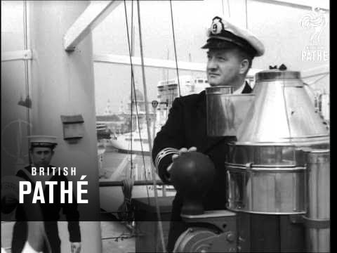 "New Cable Ship ""Cable Enterprise"" In London (1964)"