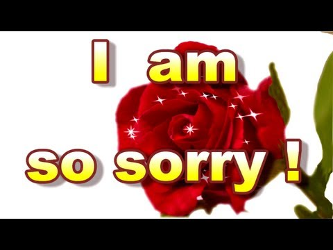 Card For Sorry , Sorry Card, I Am Sorry Greeting Card