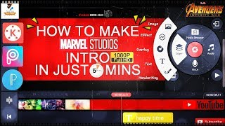Make Marvel Style Intro in 5 Mins By Techno Gyan Pedia