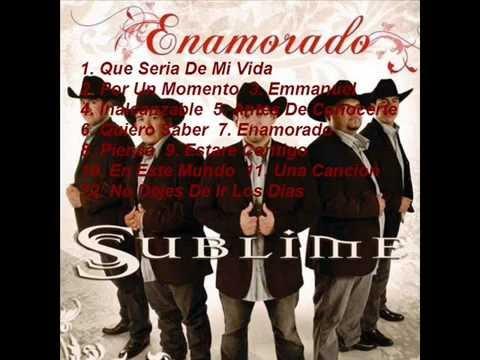Grupo Sublime - Enamorado Album - Cumbia Cristiana
