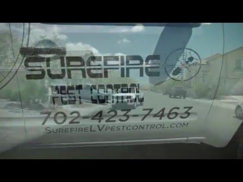 Surefire Pest Control in Las Vegas, Nevada