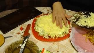 Узбекский Салат ДИЁР! How to make a salad DIYOR Uzbek!